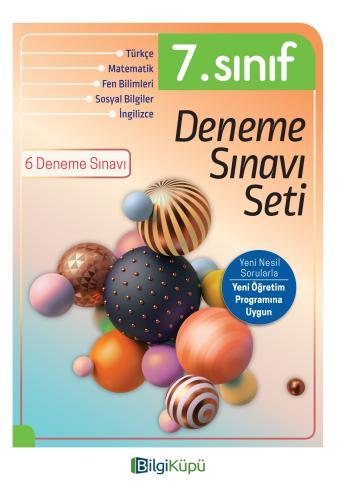 7.SINIF DENEME SINAVI SETİ -BİLGİ KÜPÜ Komisyon