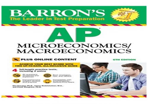AP MİCROECONOMİCS / MACROECONOMİCS Barrons Komisyon