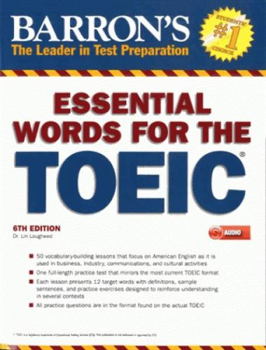 Barron's Essential Words for the TOEIC 6th Edition Lin Lougheed