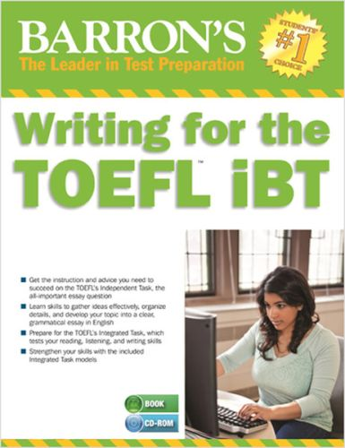 Barron's Writing for the TOEFL IBT With Mp3 CD Lin Lougheed
