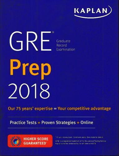 GRE Prep 2018 Practice Tests Proven Strategies Online Kaplan Komisyon