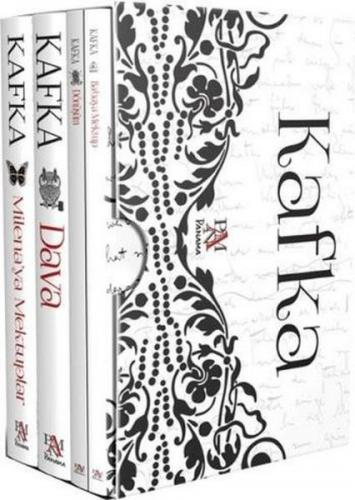 Kafka Kutulu Set 4 Kitap Takım Franz Kafka