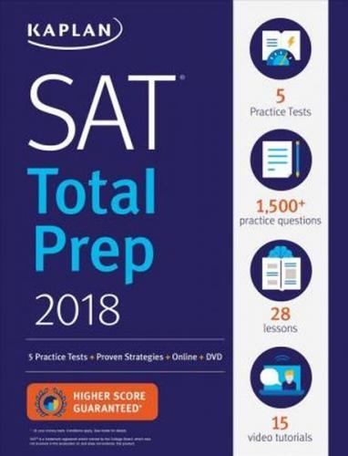 Kaplan 2018 SAT Total Prep Kaplan Komisyon