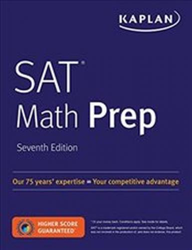 Kaplan SAT Math Prep Kaplan Komisyon