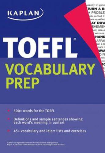 Kaplan TOEFL Vocabulary Prep Kaplan Komisyon