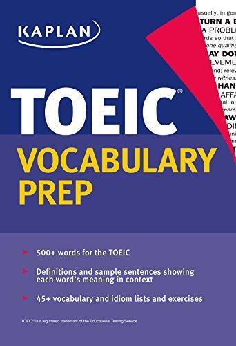 Kaplan TOEIC Vocabulary Prep Kaplan Komisyon
