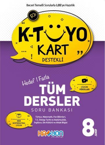 Katyon 8. Sınıf Tüm Dersler Soru Bankası Katyon Komisyon