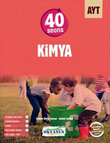 Okyanus Yayınları AYT 40 Seans Kimya Soru Bankası Okyanus Yayınları Ko
