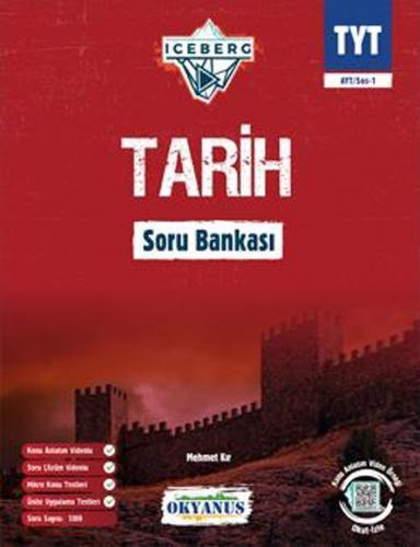 Okyanus Yayınları TYT Tarih Iceberg Soru Bankası Okyanus Yayınları Kom