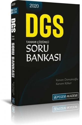 Pegem 2020 DGS Tamamı Çözümlü Soru Bankası (İADESİZ) Kenan Osmanoğlu