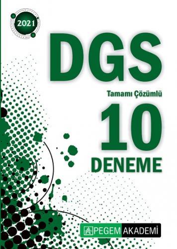 Pegem 2021 DGS Tamamı Çözümlü 10 Deneme Pegem Komisyon