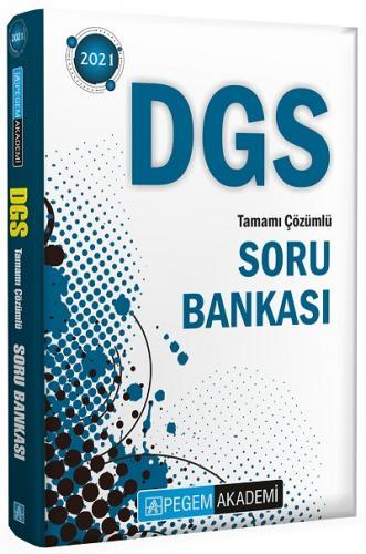 Pegem 2021 DGS Tamamı Çözümlü Soru Bankası Pegem Komisyon