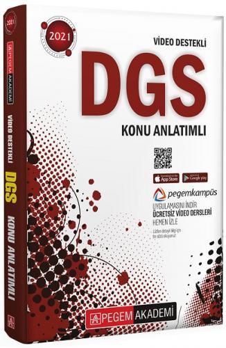 Pegem 2021 DGS Video Destekli Konu Anlatımlı Pegem Komisyon