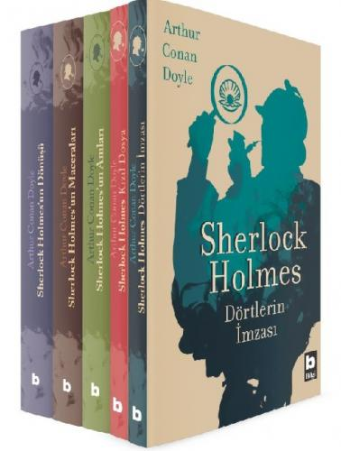Sherlock Holmes Seti 5 Kitap Arthur Conan Doyle