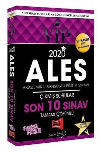 Yargı 2020 ALES VIP Tamamı Çözümlü Son 10 Sınav Çıkmış Sorular (17 Kas