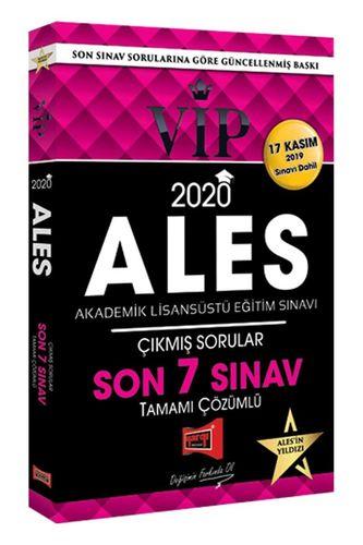 Yargı 2020 ALES VIP Tamamı Çözümlü Son 7 Sınav Çıkmış Sorular (17 Kası