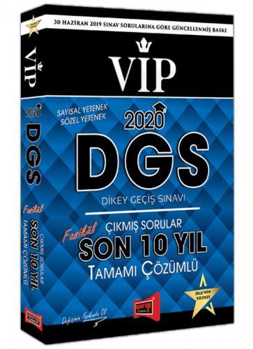 Yargı 2020 DGS VIP Sayısal Sözel Yetenek Son 10 Yıl Tamamı Çözümlü Fas
