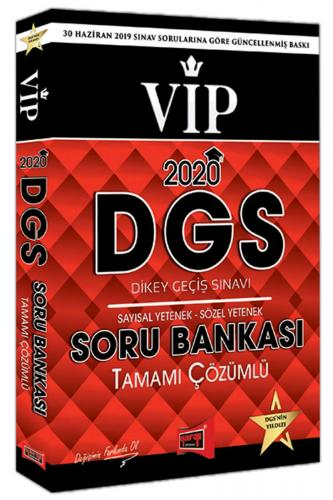Yargı 2020 DGS VIP Sayısal Sözel Yetenek Tamamı Çözümlü Soru Bankası Y