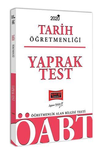 Yargı 2020 KPSS ÖABT Tarih Öğretmenliği Yaprak Test (İADESİZ) Yargı Ko