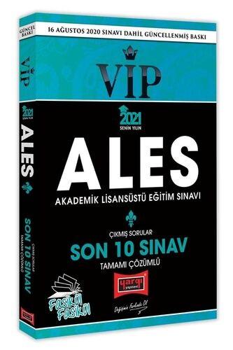 Yargı 2021 ALES VIP Son 10 Sınav Tamamı Çözümlü Fasikül Çıkmış Sorular