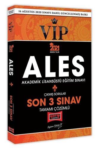 Yargı 2021 ALES VIP Son 3 Sınav Tamamı Çözümlü Çıkmış Sorular Yargı Ko