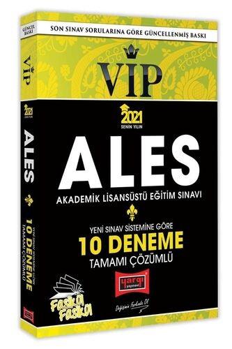 Yargı 2021 ALES VIP Yeni Sınav Sistemine Göre Tamamı Çözümlü 10 Fasikü