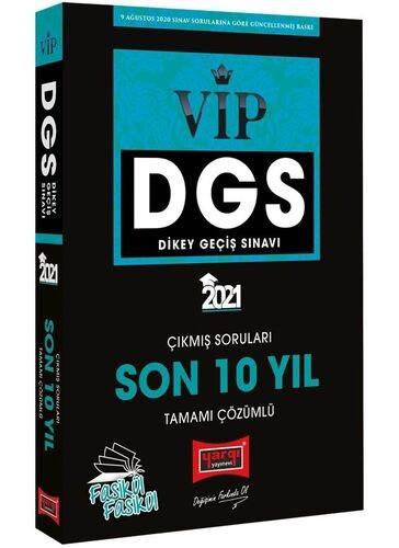 Yargı 2021 DGS VIP Sayısal-Sözel Yetenek Son 10 Yıl Tamamı Çözümlü Fas
