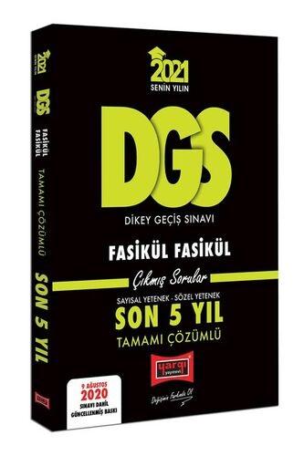 Yargı 2021 DGS VIP Tamamı Çözümlü Fasikül Fasikül Son 5 Yıl Çıkmış Sor