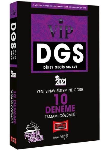 Yargı 2021 DGS VIP Yeni Sınav Sistemine Göre Tamamı Çözümlü 10 Fasikül