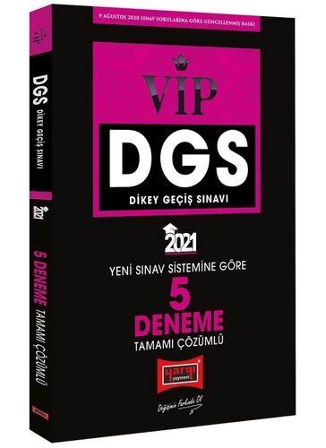 Yargı 2021 DGS VIP Yeni Sınav Sistemine Göre Tamamı Çözümlü 5 Deneme Y