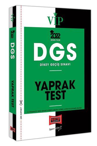 Yargı Yayınları 2022 VİP DGS Yaprak Test Yargı Yayınları Komisyon