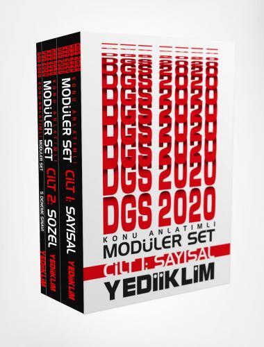 Yediiklim 2020 DGS Sayısal Sözel Konu Anlatımlı Modüler Set Yediiklim