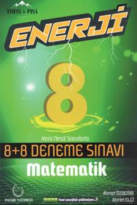 Palme 8. Sınıf Matematik Enerji 8+8 Deneme Sınavı