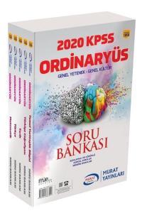 Murat Yayınları 2020 KPSS Ordinaryüs Genel Yetenek Genel Kültür Modüler Soru Bankası Seti