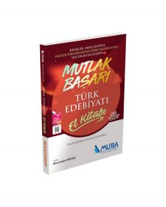 Muba Yayınları Türk Edebiyatı El Kitabı