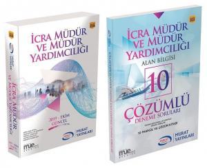 Murat Yayınları 2019 İcra Müdür ve Yardımcılığı Hazırlık Kitabı + 10 Deneme 2 li Set