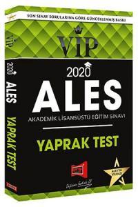 Yargı Yayınları 2020 ALES VIP Yaprak Test