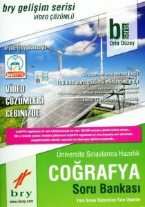 Birey YKS Orta Düzey Coğrafya Video Çözümlü Soru Bankası Gelişim Serisi