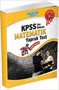 Akıllı Adam KPSS Lise Önlisans Matematik Yaprak Test