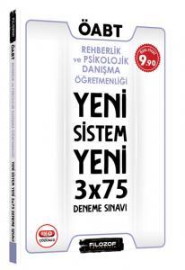 Filozof ÖABT Rehber Öğretmenliği Yeni Sistem 3x75 Deneme Sınavı