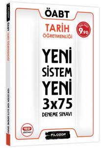 Filozof ÖABT Tarih Öğretmenliği Yeni Sistem 3x75 Deneme Sınavı