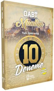 İsem KPSS ÖABT Muallim Tarih Öğretmenliği Tamamı Çözümlü 10 Deneme