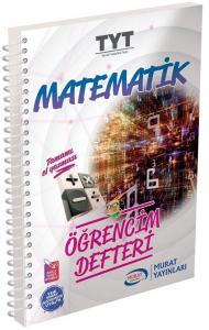 Murat Yayınları TYT Matematik Öğrencim Defteri