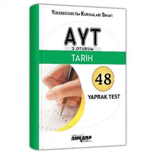 YKS AYT Tarih 48 Yaprak Test - Ankara Yayıncılık