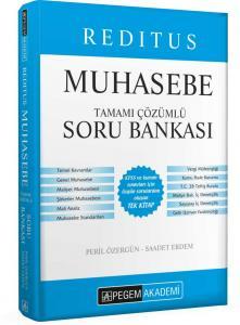 Pegem Yayınları 2020 KPSS A Grubu Reditus Muhasebe Tamamı Çözümlü Soru Bankası