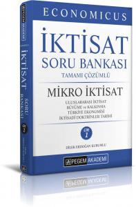 Pegem Yayınları 2020 KPSS A Grubu Economicus Mikro İktisat Tamamı Çözümlü Soru Bankası (cilt 1)
