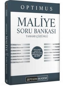 Pegem Yayınları 2020 KPSS A Grubu Optimus Maliye Tamamı Çözümlü Soru Bankası
