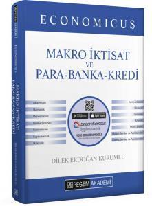 Pegem Yayınları 2020 KPSS A Grubu Economicus Makro İktisat ve Para-Banka-Kredi Konu Anlatımı