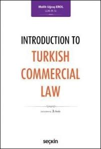 Introduction To Turkish Commercial Law
