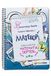 Hiper Zeka Yayınları Konu Kavratan AYT Matematik 2 Defteri Matekopi